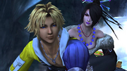 Tidus-and-Lulu-Lake-Macalania-FFX-HD