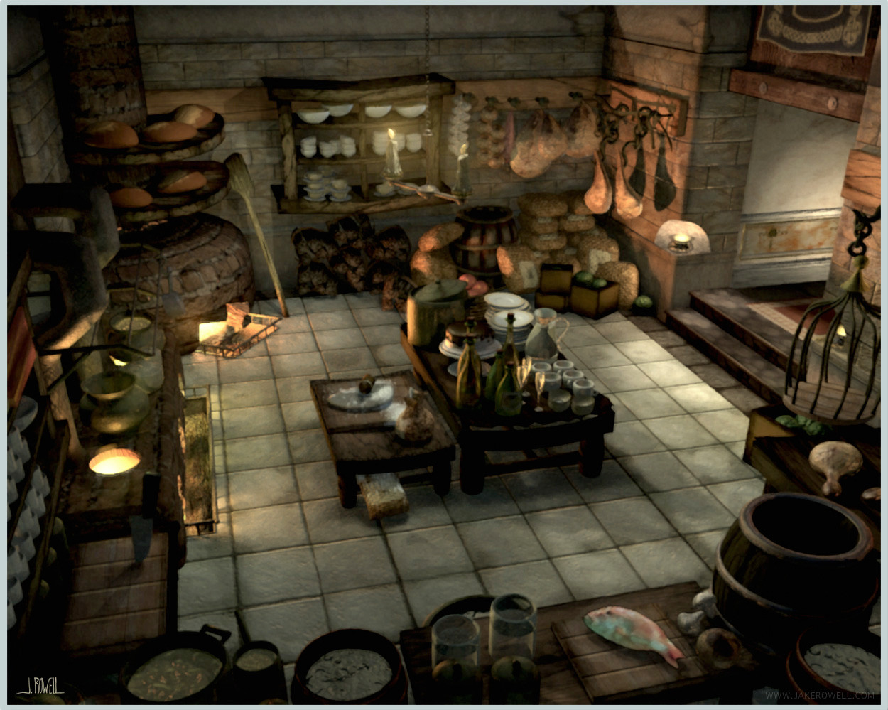 Wonderful Alexandria Castle Kitchen FFIX.JPG