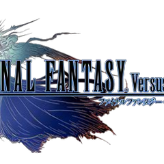 <i>Final Fantasy Versus XIII</i> logo.