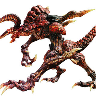 Ifrit's in-game model.