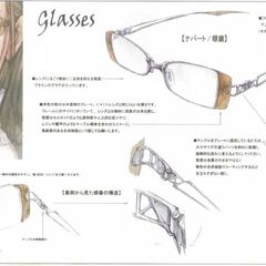 Design of Jihl's glasses from <i>Final Fantasy XIII</i>.