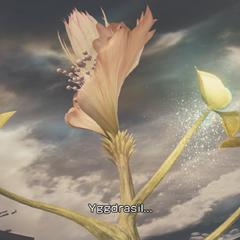 Yggdrasil blooms.