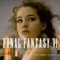 In a Japanese commercial for <i>Final Fantasy VI</i>.