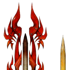 Flame Fossil (Noel's weapon).