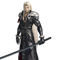 Sephiroth in the arcade version.