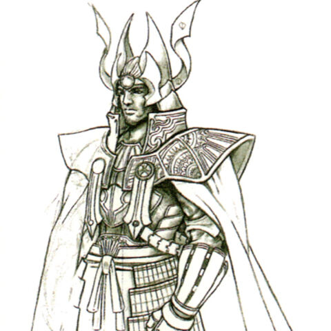 Concept art from <i>Final Fantasy 25th Memorial Ultimania</i>.