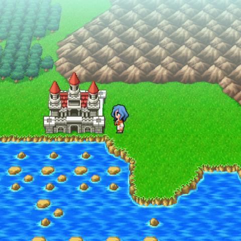 Castle Liene on the world map.