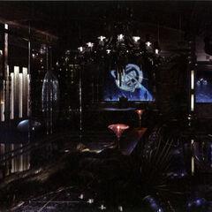 Artwork of Cid's office.