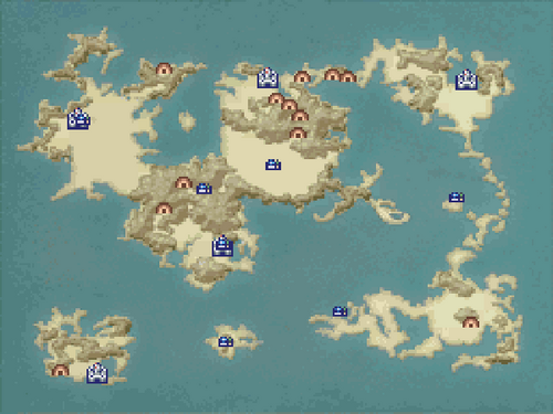 FFIVDS World Map 1