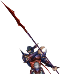 Kain's alternate costume for <i>Dissidia 012</i>.