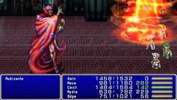 FF4PSP Enemy Ability Inferno