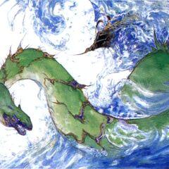 Syldra by Yoshitaka Amano.