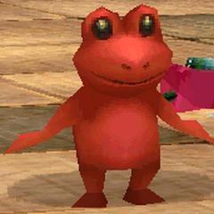 Toad render for Yang in <i>Final Fantasy IV</i> (iOS).