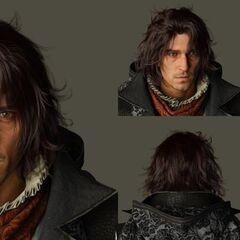 Renders of Ardyn's head and shoulders.