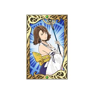 Yuna's portrait.