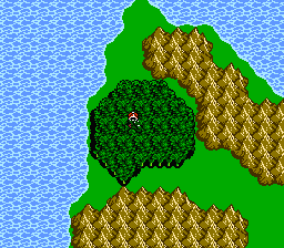 FFIII NES Chocobo Woods 3