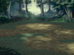FFIV DS Forest Battle Background