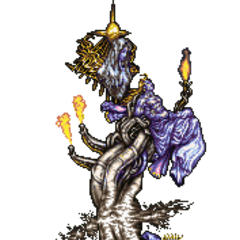 The Tower of Gods in the original Japanese version and English release of the <a href=