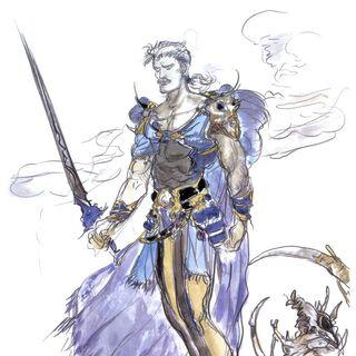 Dorgann artwork by Yoshitaka Amano.