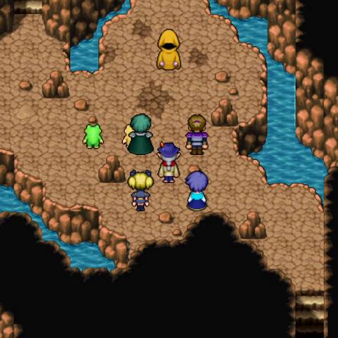 Titan inside Cave of Convulsion