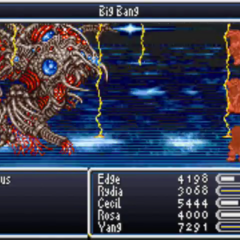 Big Bang in the GBA version.