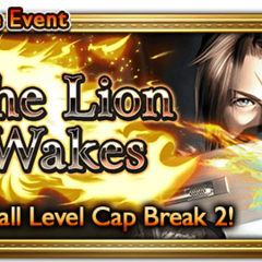 Global event banner for The Lion Wakes.