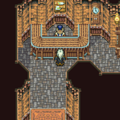 Mobliz's weapon shop (GBA).