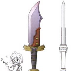 Concept artwork for the Dagger.
