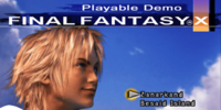 Final Fantasy X Playable Demo