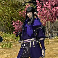 Yugiri in-game.