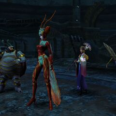 The Magus Sisters in battle.