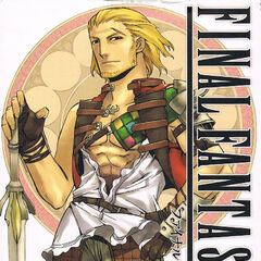 Basch on the cover of the <i>Final Fantasy XII</i> Manga, Vol. 5.