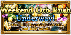 FFRK Weekend Orb Rush Event