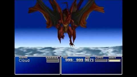 Giga Flare - Neo Bahamut summon sequence - FFVII