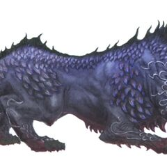 Artwork of Cerberus.