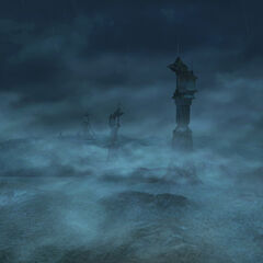 View of the Thunder Plains in <i>Final Fantasy X-2</i>.