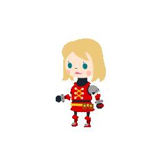 A female Warrior in <i><a href=