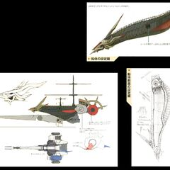 Concept artwork of Ark's transformation.