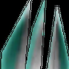 Mythril Fork's in-game model.