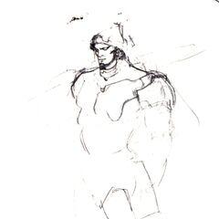 Adelbert Steiner Sketch.