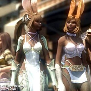 Two viera during the opening <a href=