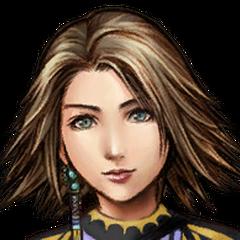 Yuna's Trainer portrait.
