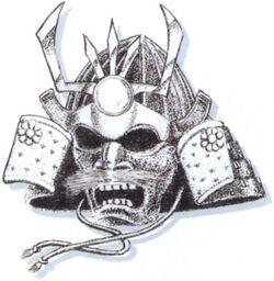 FFVI Genji Helmet Artwork