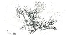 Demon ffvi concept art