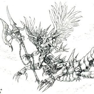 Concept artwork by Tetsuya Nomura.