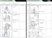 Limit Break Storyboard FFVII Sketches Unused