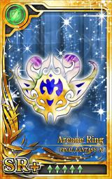 FF10 Arcane Ring SR+ Artniks