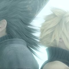 Cloud and Zack.
