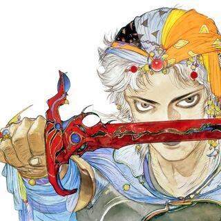 Original Cover Art of Firion.