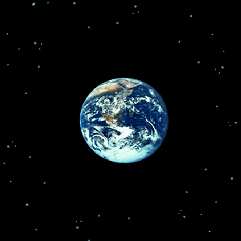 The Earth, as seen from the <i>Lunar Whale</i> (iOS).